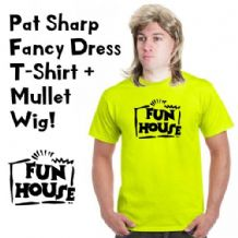 Pat Sharp Fun House Fancy Dress Costume